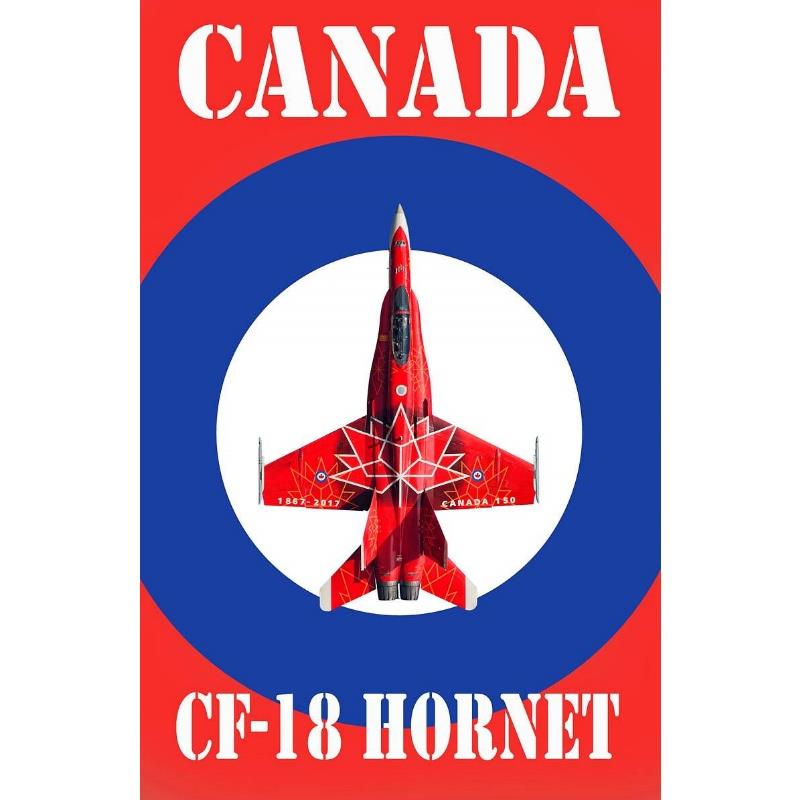 Product Photo of 30049 - Canadian Hornet Graphic Print