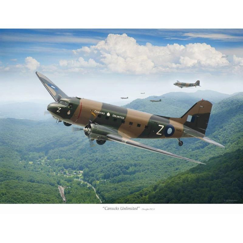 Product Photo of 30051 - Canucks Unlimited DC-3 Print