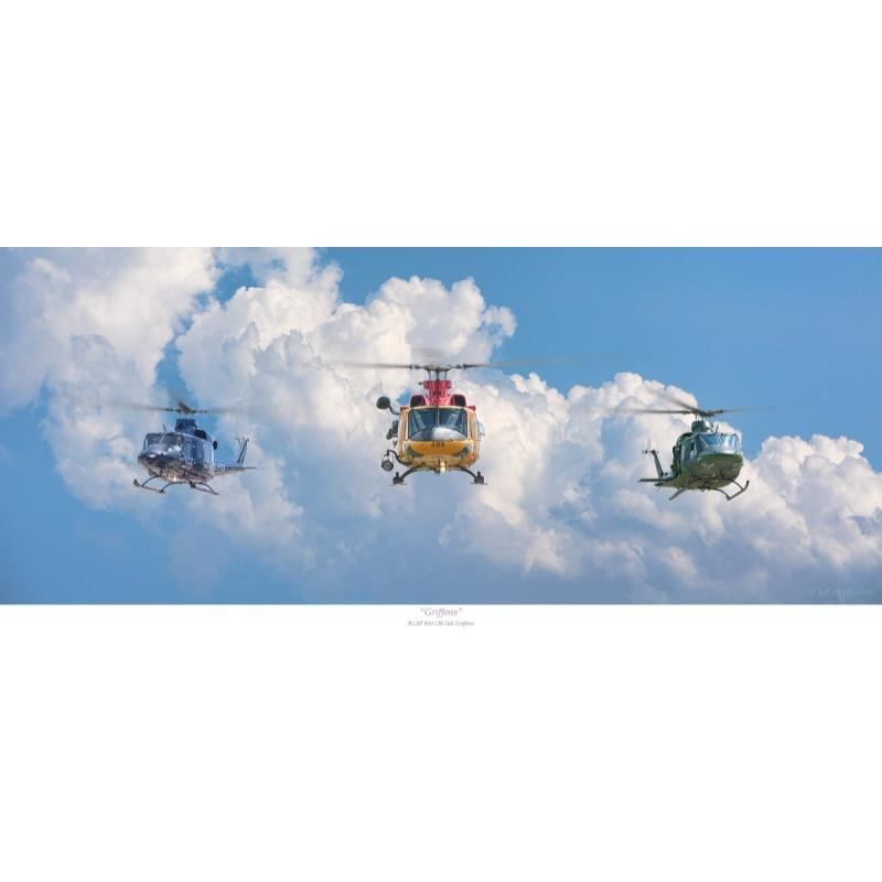 Product Photo of 30063 - RCAF Griffons Print