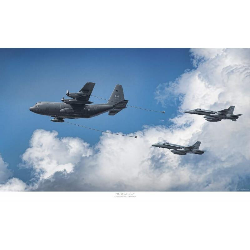 Product Photo of 30065 - C-130 Hercules 'Rendezvous' Print
