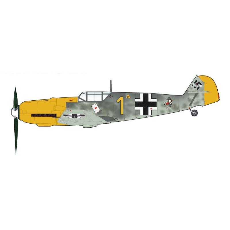 Product Photo of 30082 - BF 109E-3, Josef Priller, Diecast Model