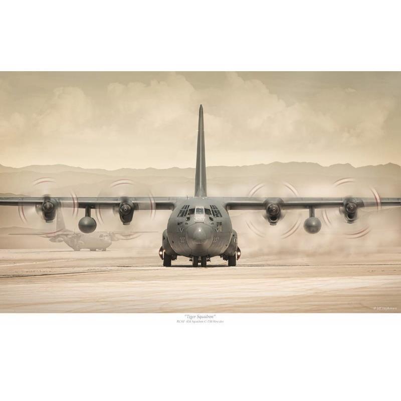 Product Photo of 30085 - C-130 Hercules '424 Tiger Sqn' Print
