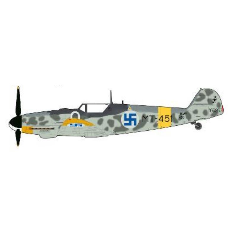 Product Photo of 30089 - Bf-109 G-6, Finnish AirForce, Diecast Model