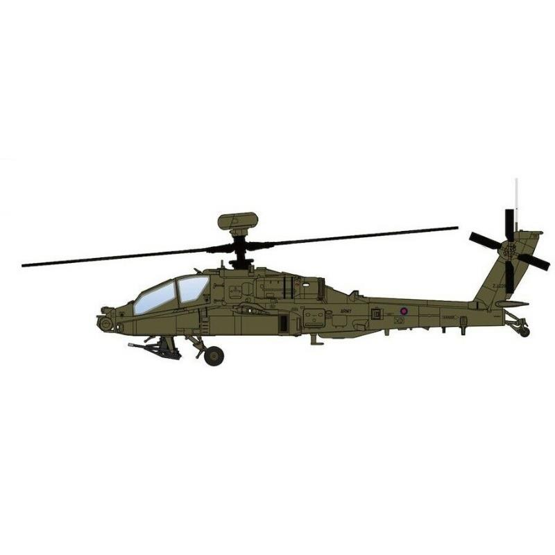 """Product Photo of 30115 - Boeing Apache WAH-64D """"Operation Herrick"""" Diecast Model"""