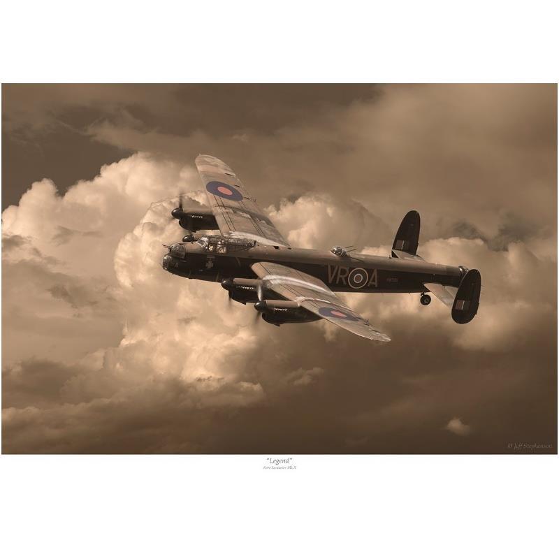 Product Photo of 30140 - Avro Lancaster 'Legend' Print