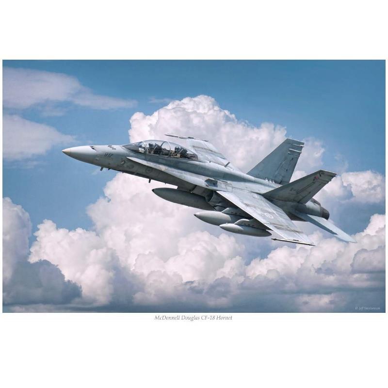Product Photo of 30144 - McDonnell Douglas CF-18 (#917), Print