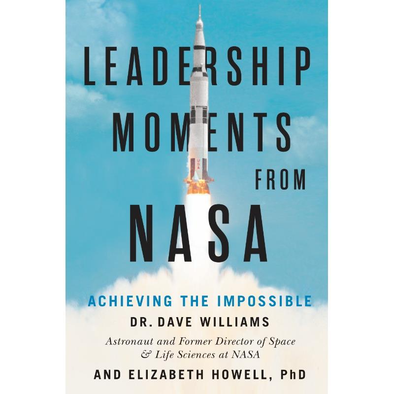 Product Photo of 30145 - Leadership Moments from NASA, Hardcover Book