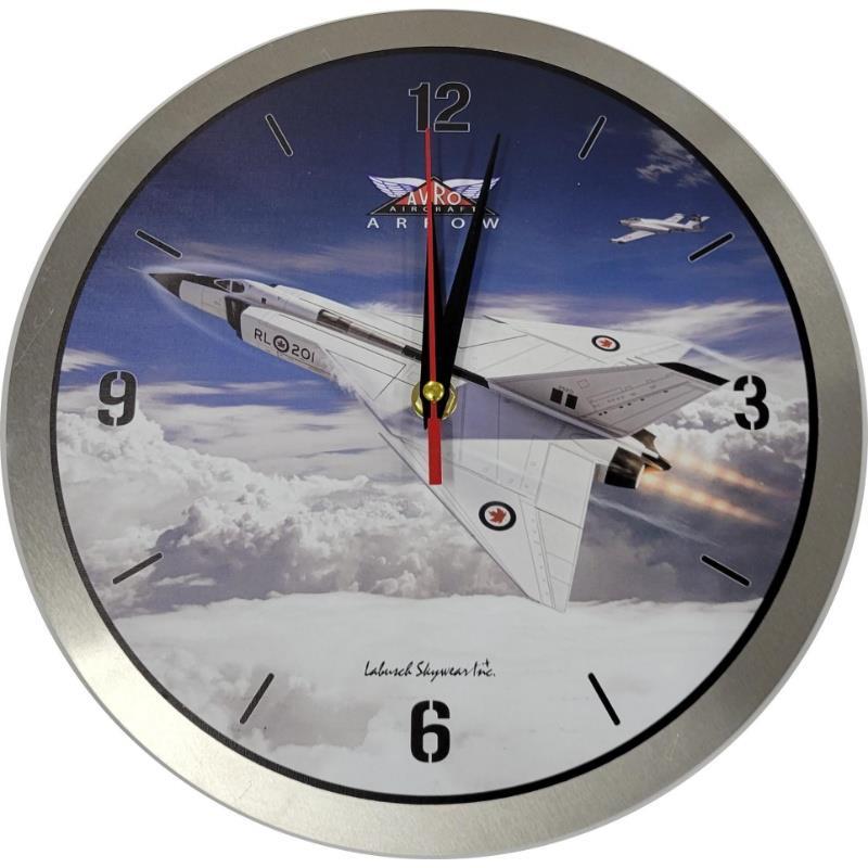 Product Photo of 30196 - Avro Arrow Metal Clock