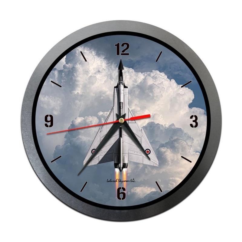 Product Photo of 30201 - Avro Arrow Vertical Metal Clock