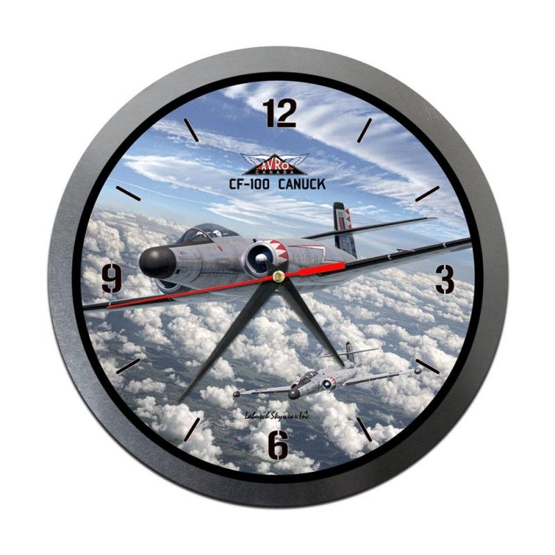 Product Photo of 30203 - CF-100 Canuck Metal Clock