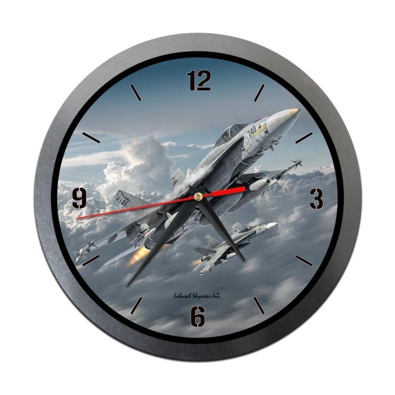 Product Photo of 30204 - CF-18 Hornet Metal Clock