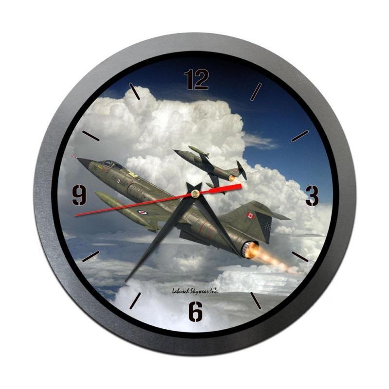 Product Photo of 30205 - CF-104 Starfighter Metal Clock