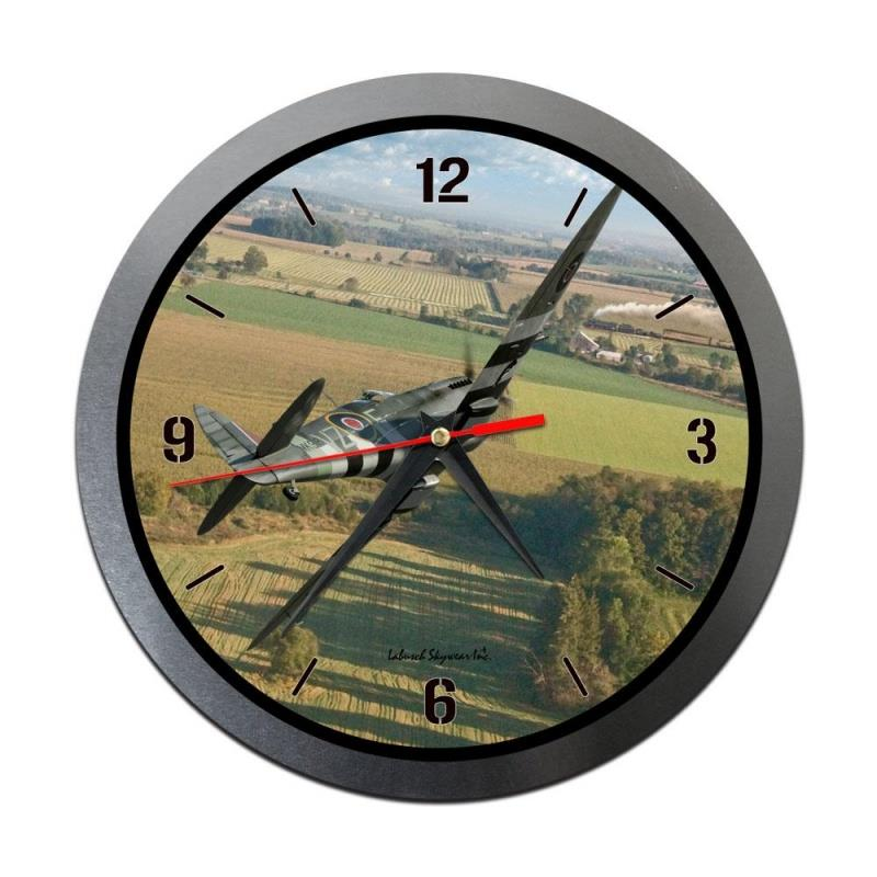 Product Photo of 30206 - Spitfire Metal Clock