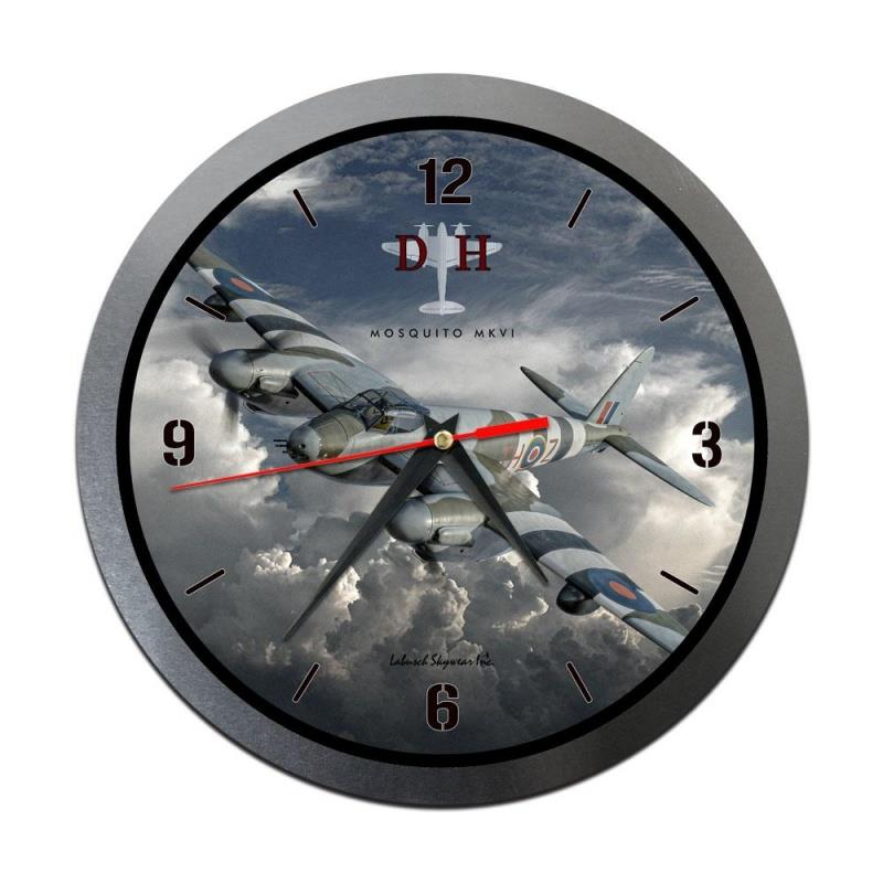 Product Photo of 30207 - Mosquito Metal Clock