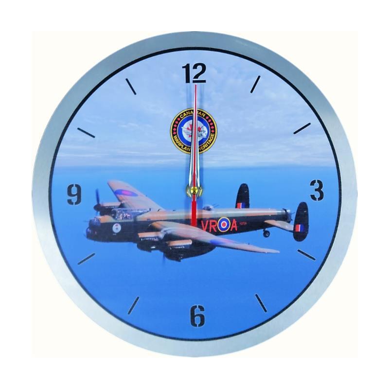 Product Photo of 30208 - Mynarski Memorial Lancaster Metal Clock