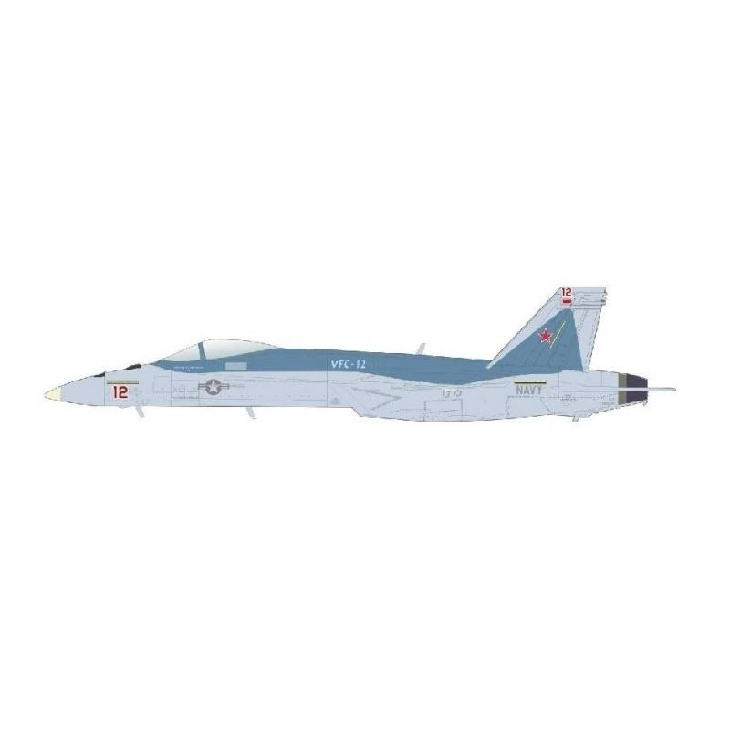 """Product Photo of 30234 - F/A-18E Super Hornet, US Navy """"Mako"""" Red 12, 2021 Diecast Model"""