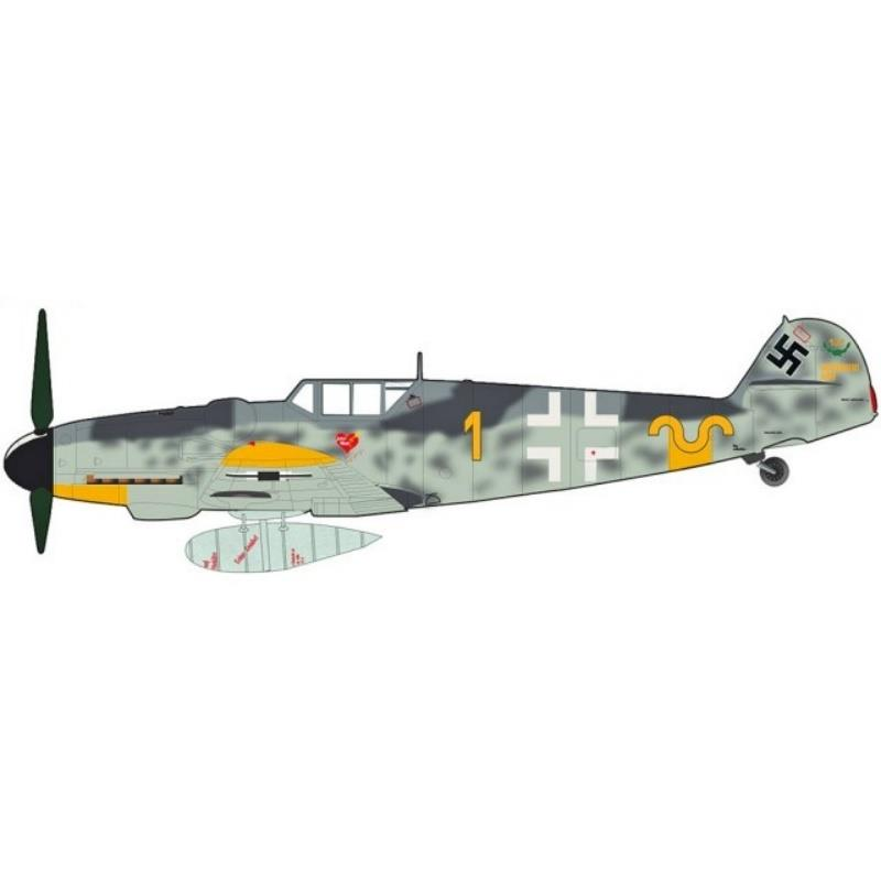 Product Photo of 30238 - BF 109G-6 Erich Hartmann, October 1943 Diecast Model