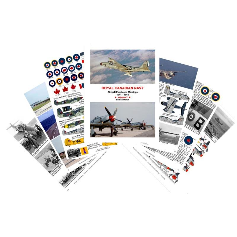 Product Photo of 30279 - Royal Canadian Navy, Aircraft Finish and Markings, 1944-1968, Volume 2, Book