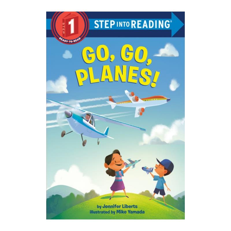 Product Photo of 30390 - Go Go Planes - Kids Book
