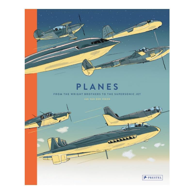 Product Photo of 30392 - Planes  -  From the Wright Brothers to the Supersonic Jet, Book