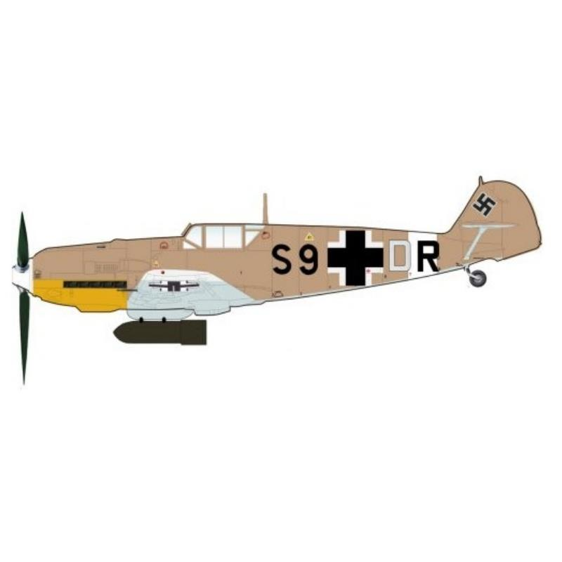 Product Photo of 30495 - Bf109E-7, Diecast Model