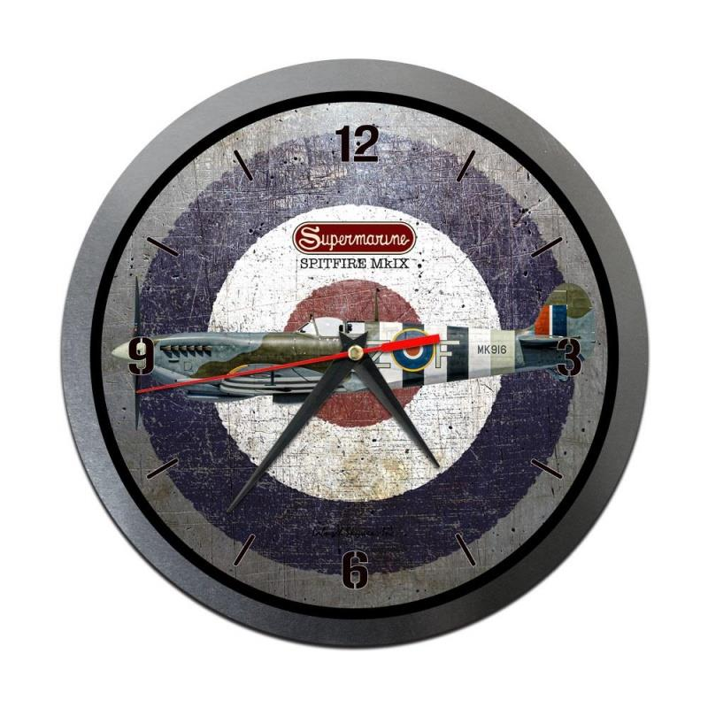 Product Photo of 30200 - Spitfire Roundel Metal Clock