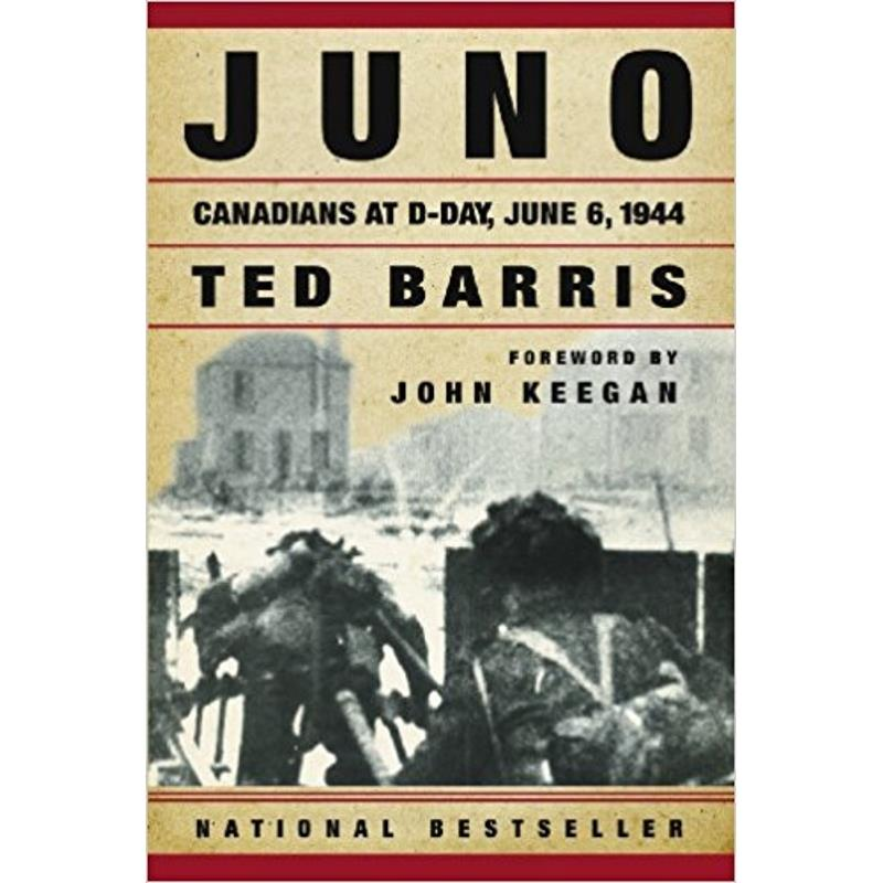 Product Photo of 8035 - Juno: Canadians at D-Day June 6, 1944, by Ted Barris