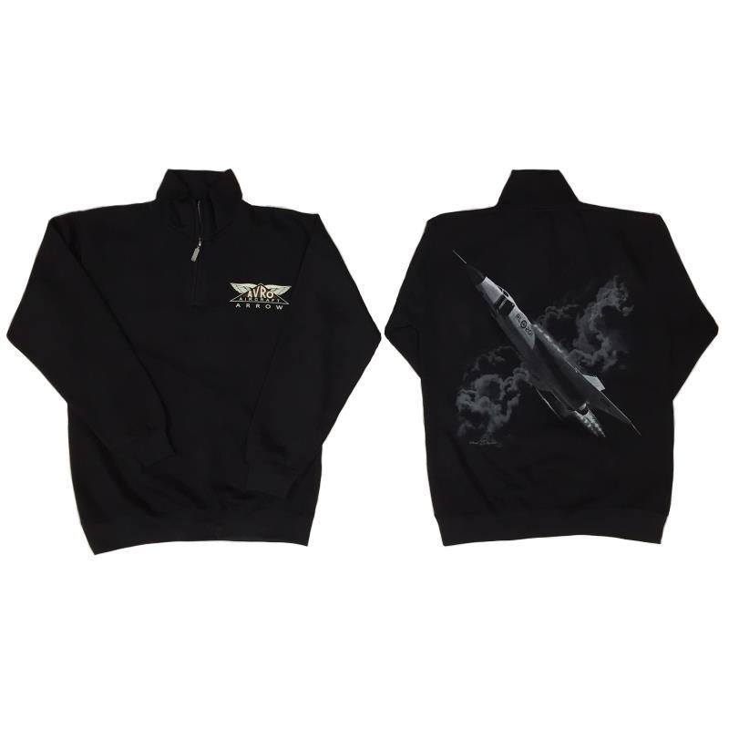 Product Photo of ARROWSWEAT - Avro Arrow 1/4 Zip Sweatshirt