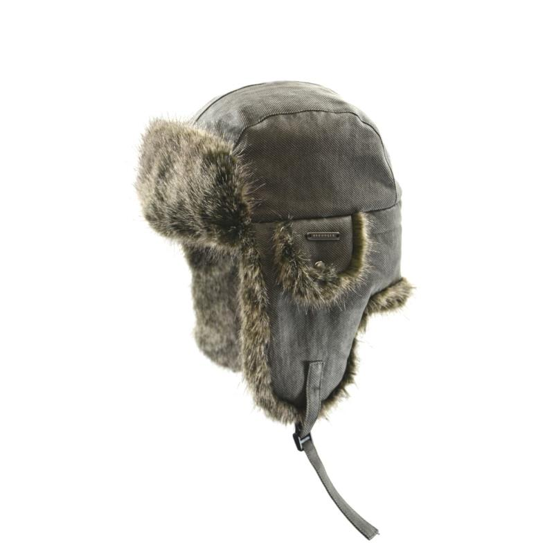 Product Photo of AVIATOR-HAT-COTTON - Waxed Cotton Twill Aviator
