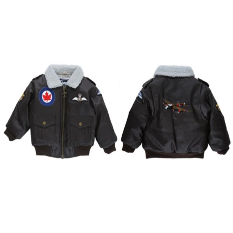 Product Photo of BOYSANDGIRLSBOMBERJACKET - RCAF Patch Boys and Girls Jacket