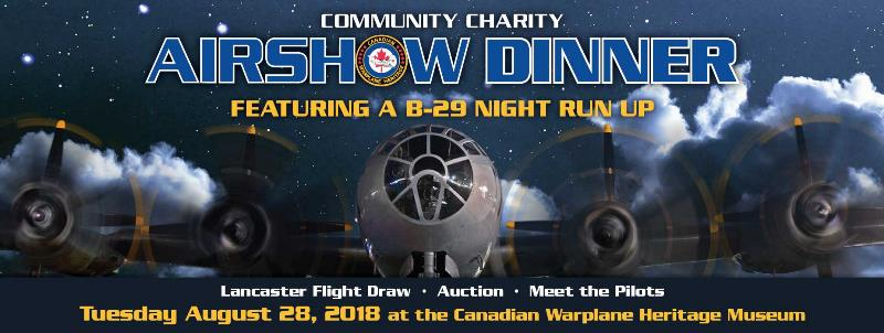 Product Photo of CCAD - Airshow Dinner - Community Charity Airshow 2018