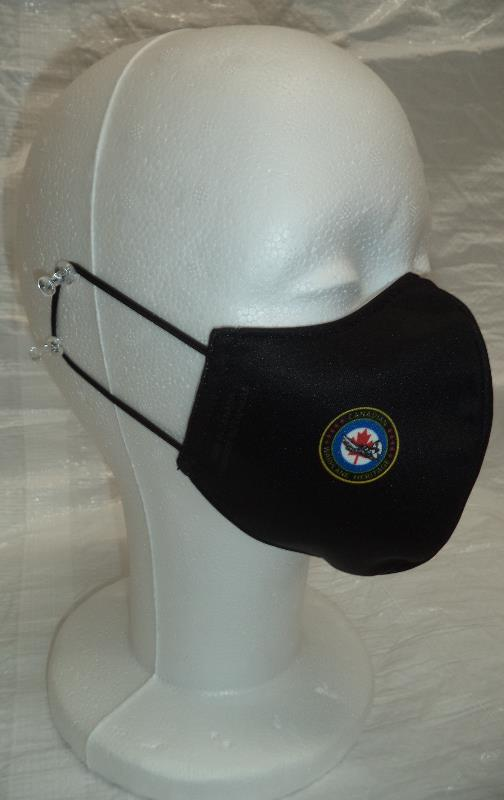 Product Photo of FACEMASK2 - Face Mask (ear loop)- Canadian Warplane Logo