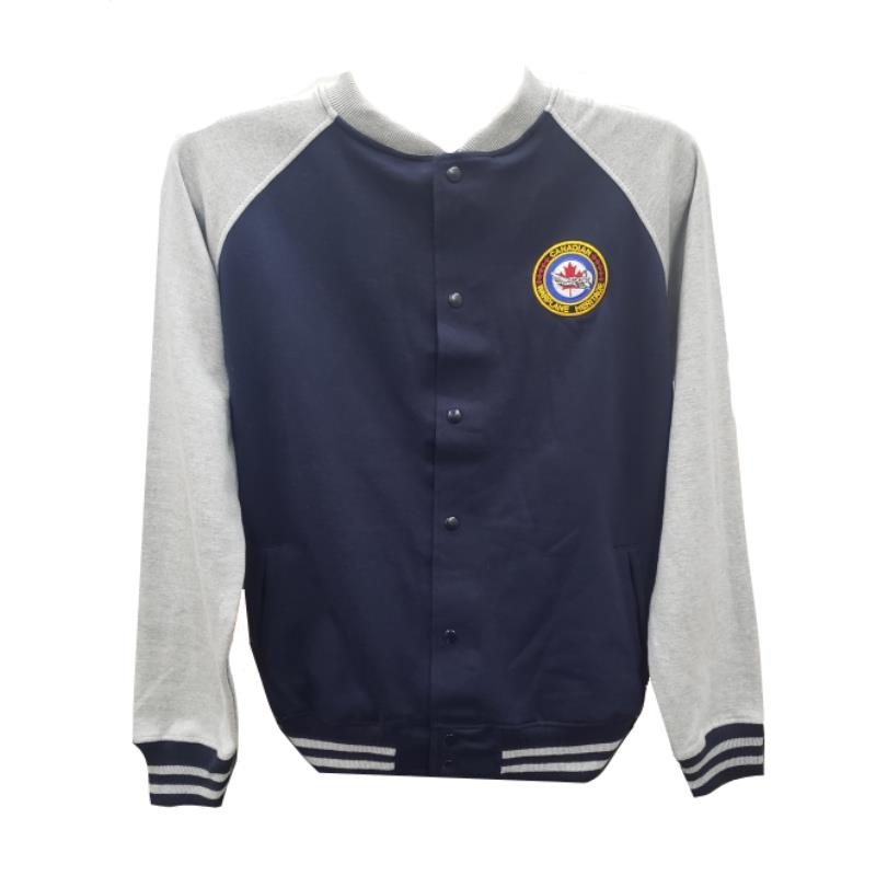 Product Photo of CWH-BASEBALL-JACKET - CWH Varsity Jacket