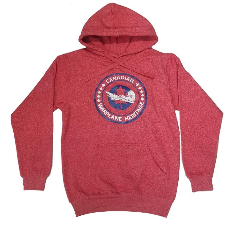Product Photo of CWHMREDHOODIE - Canadian Warplane Museum Red Hoodie