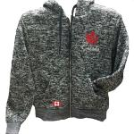 Photo of CanadaLadiesHoodie - Ladies Canada Full Zip Hoodie