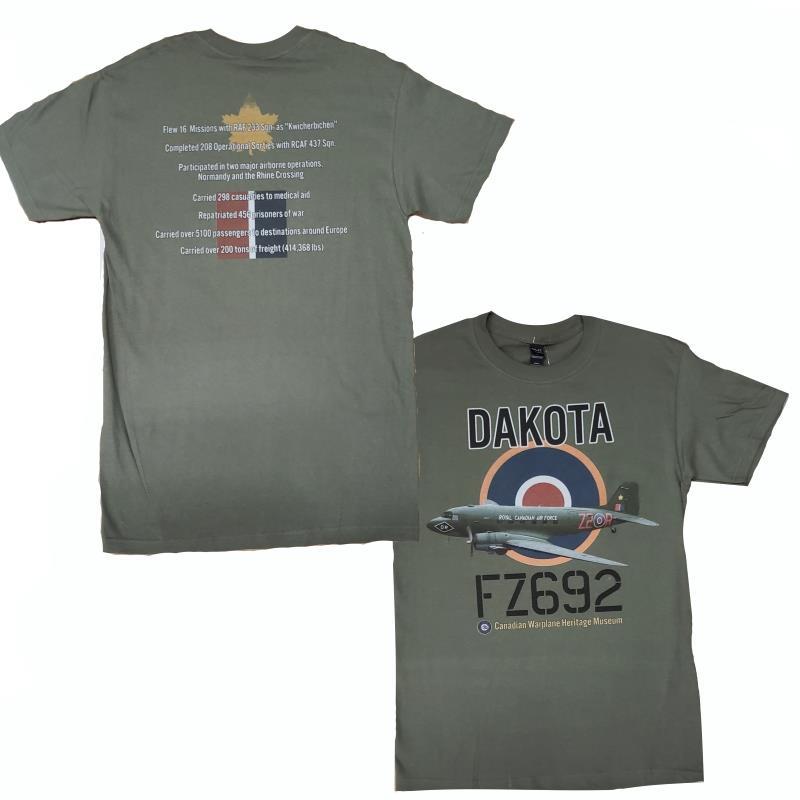 Product Photo of DAKOTACWH-2SIDED - Dakota C-47 Two Sided T-Shirt