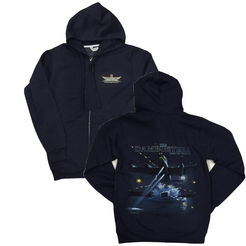 Product Photo of DAMBUSTERNAVYHOODIE - Dambuster Anniversary Hoodie