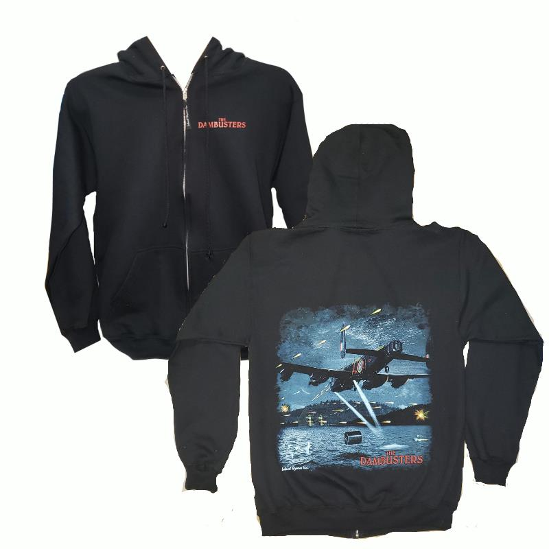 Product Photo of DAMBUSTERZIPHOODIE - Dambuster Full Zip Sweater