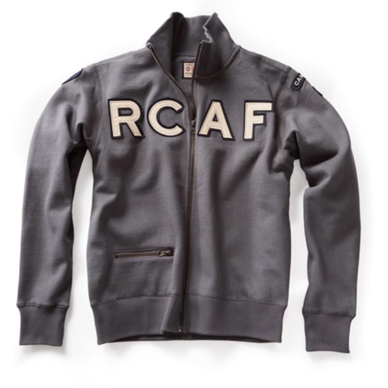 Product Photo of DAXSWEATZIPPERRCAF - RCAF Full Zip Sweatshirt