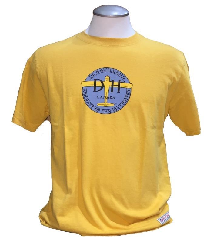 Product Photo of DAXTSHIRTDEHAVILLANDYLW - De Havilland T-shirt