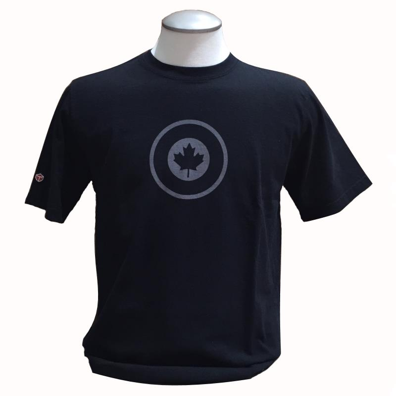 Product Photo of DAXTSHIRTRCAFROUNDELBLK - RCAF Roundel T-shirt