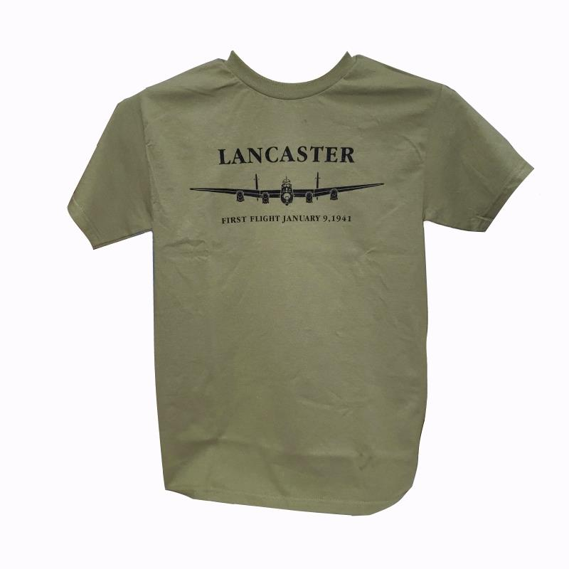 Product Photo of FIRSTFLIGHTGREEN - Lancaster First Flight Green T-Shirt