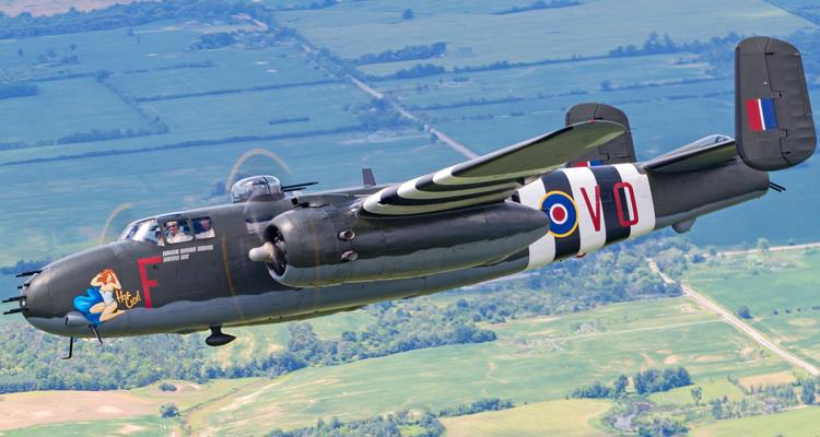 Product Photo of FLY-B25PHOTOLANC - North American B-25 Mitchell Photo Flight with Lancaster