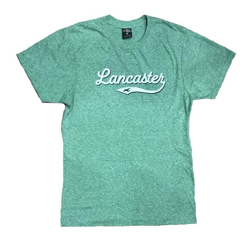 Product Photo of GREEN-LANC-BASEBALL-TEE - Green Lancaster Baseball T-Shirt