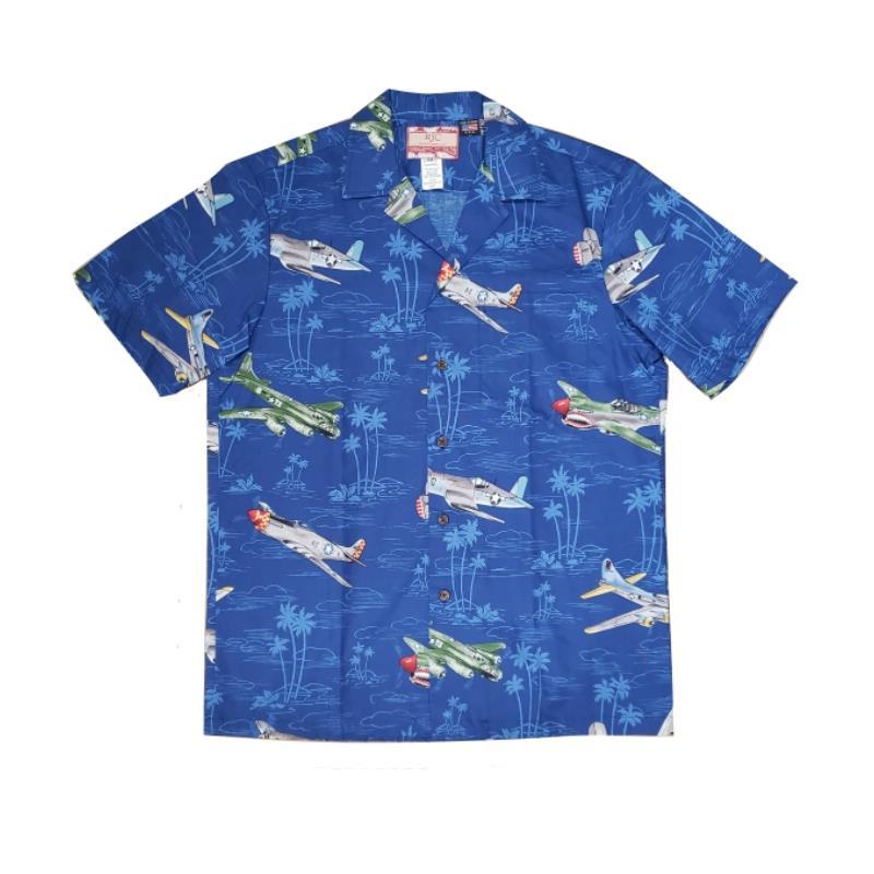 Product Photo of HAWAIIANSHIRTBLUEHAWAII - Blue Hawaii Hawaiian Shirt