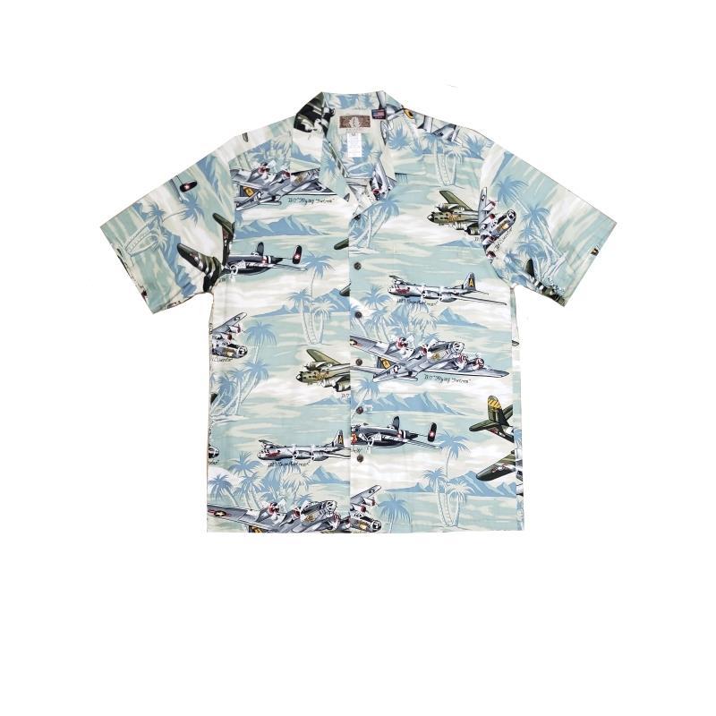 Product Photo of HAWAIIANSHIRTSEAFOAM - Sea Foam Hawaiian Shirt
