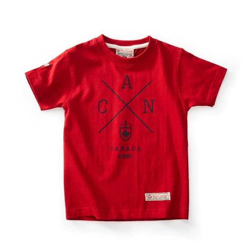 Product Photo of KIDS CROSS CANADA - Kids Cross Canada T-Shirt