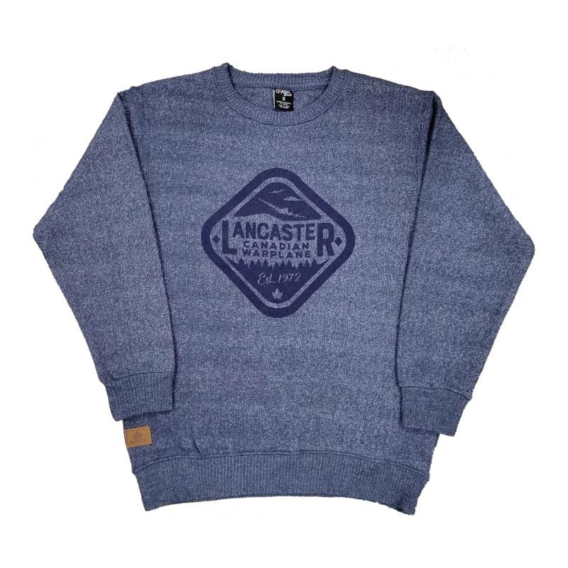 Product Photo of Lancaster Diamond Blue Sweat - Avro Lancaster Diamond Logo Sweatshirt