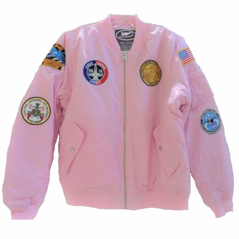 Product Photo of MA1FLIGHTJACKET-LADIES - Ladies Ma-1 Flight Jacket