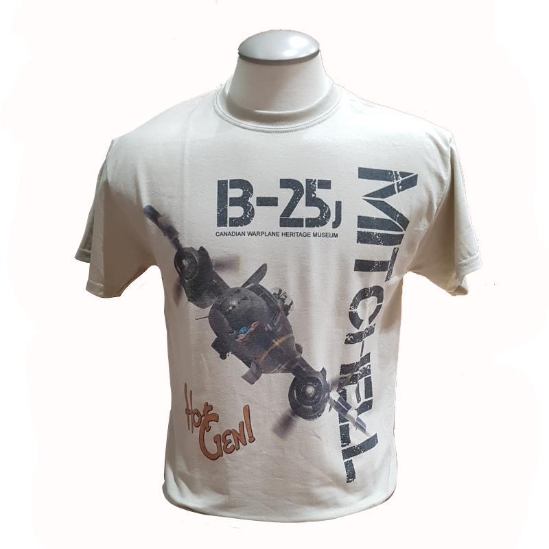 Product Photo of MITCHELLSANDTSHIRT - B-25 Mitchell Tan T-Shirt